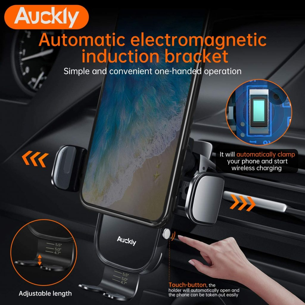 chargeur induction voiture Auckly